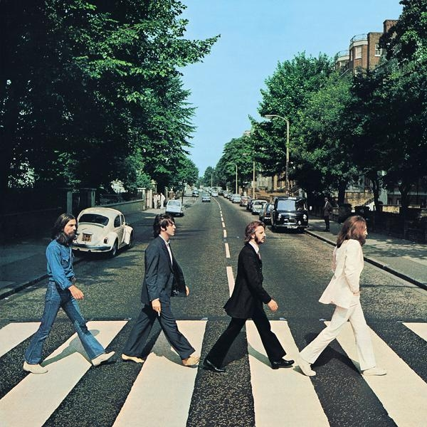 The Beatles Abbey Road cover art