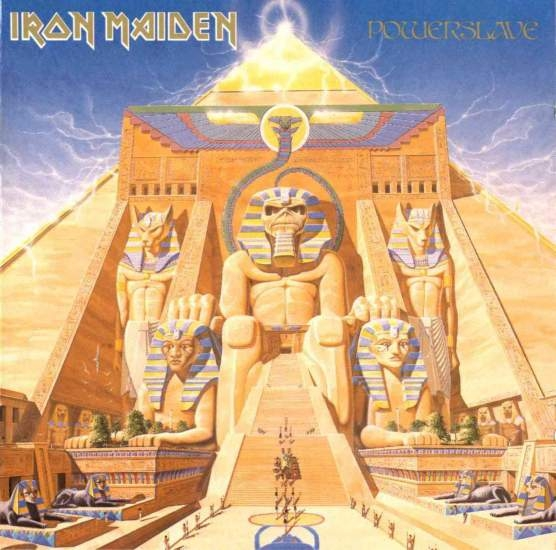 Iron Maiden Powerslave cover art