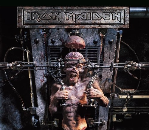 Iron Maiden The X Factor cover art