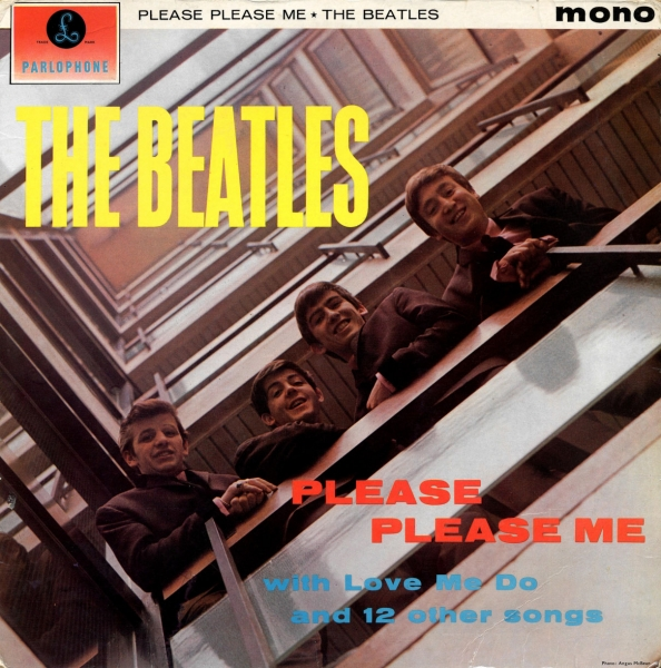 The Beatles Please Please Me cover art