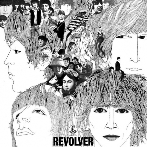 The Beatles Revolver cover art