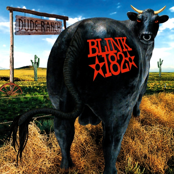 Blink-182 Dude Ranch cover art