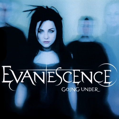 Evanescence Going Under Cover Art