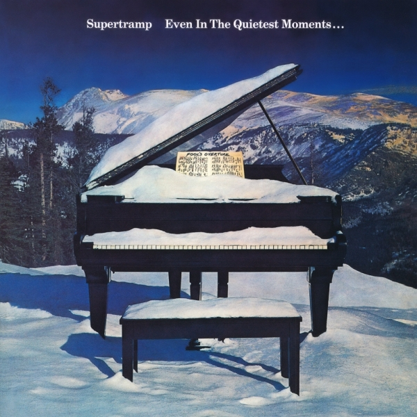 Supertramp Even in the Quietest Moments… cover art
