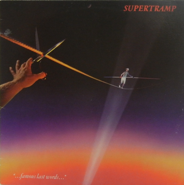 "Supertramp ""...Famous Last Words..."" cover art"