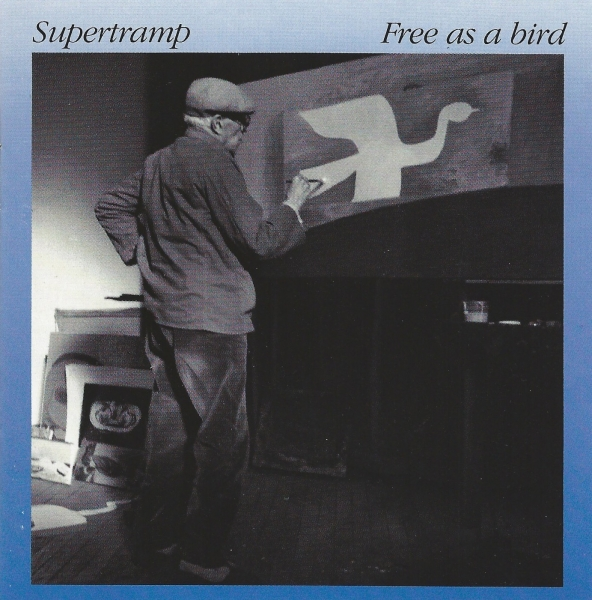 Supertramp Free as a Bird Cover Art