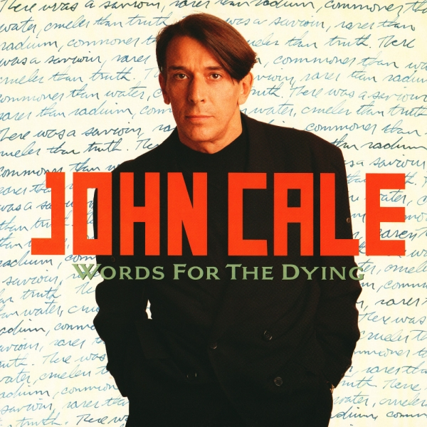 John Cale Words for the Dying cover art
