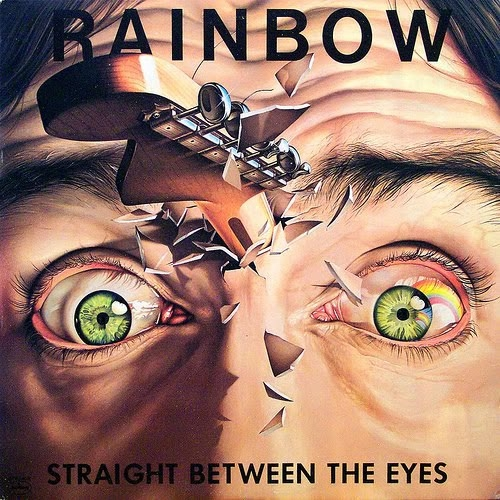 Rainbow Straight Between the Eyes Cover Art