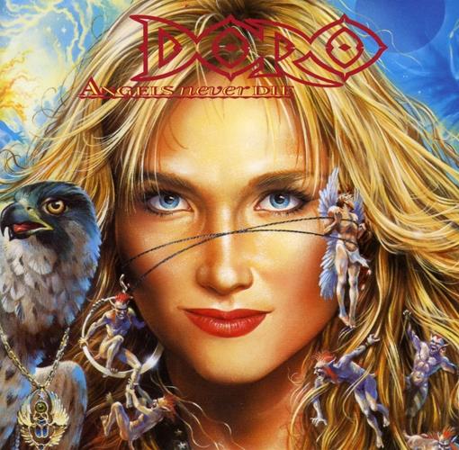Doro Angels Never Die cover art