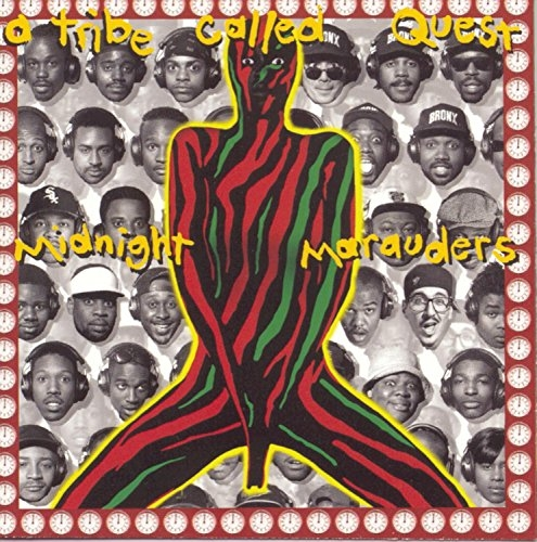 A Tribe Called Quest Midnight Marauders Cover Art