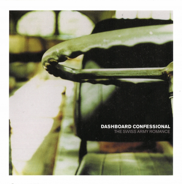 Dashboard Confessional The Swiss Army Romance cover art