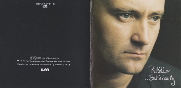 Phil Collins …But Seriously cover art