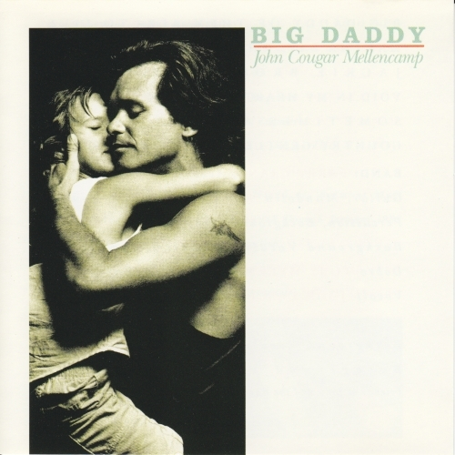 John Mellencamp Big Daddy cover art