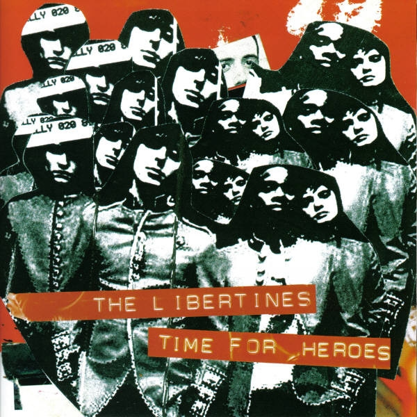 The Libertines Time for Heroes cover art