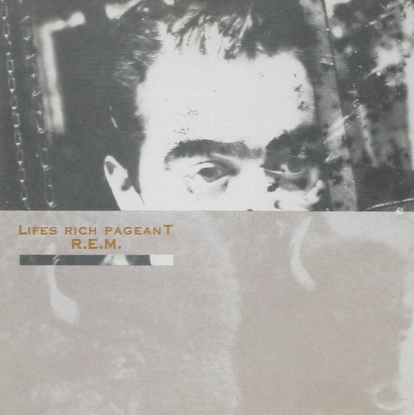 R.E.M. Lifes Rich Pageant cover art
