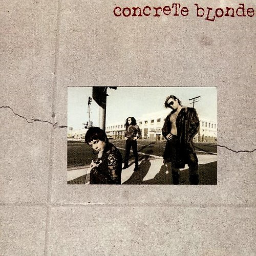 Concrete Blonde Concrete Blonde Cover Art
