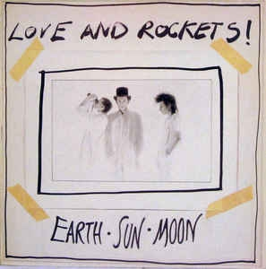 Love and Rockets Earth · Sun · Moon cover art