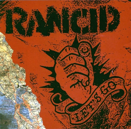 Rancid Let's Go cover art