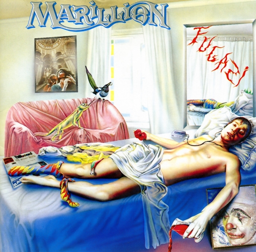 Marillion Fugazi cover art