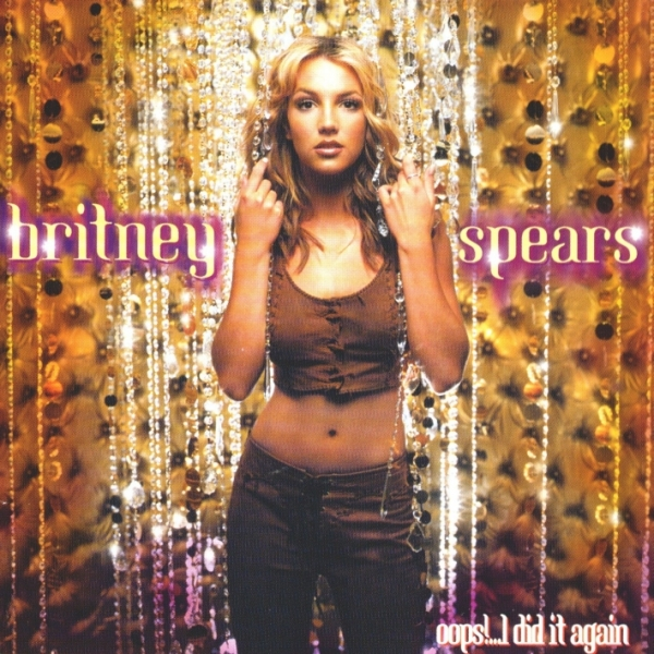 Britney Spears Oops!…I Did It Again cover art
