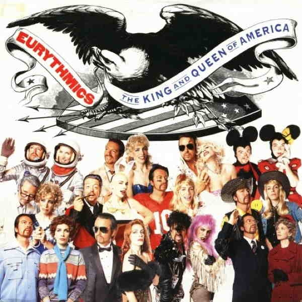 Eurythmics The King and Queen of America Cover Art
