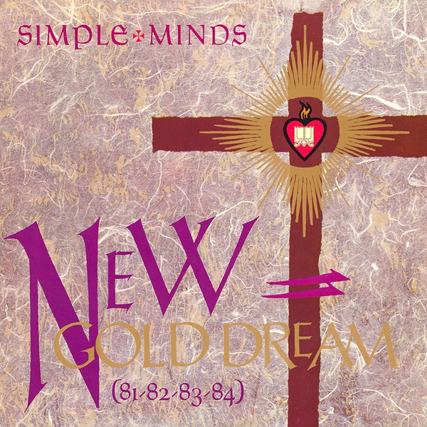 Simple Minds New Gold Dream (81-82-83-84) cover art