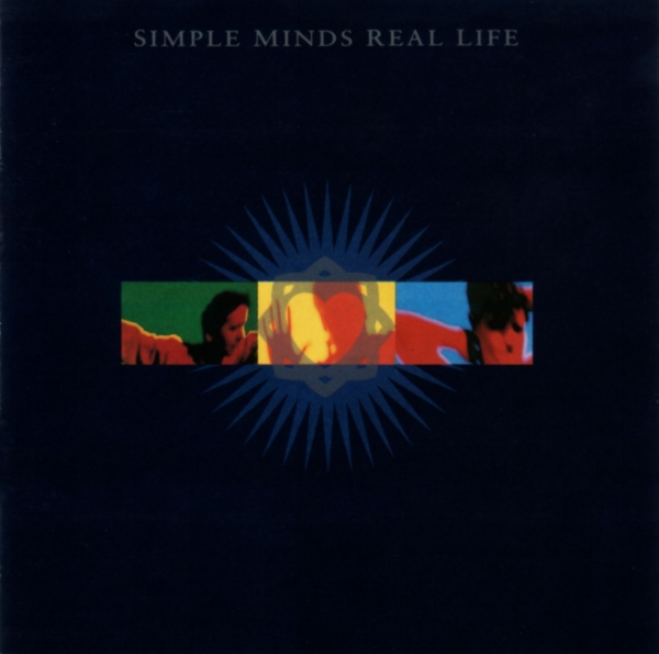Simple Minds Real Life cover art
