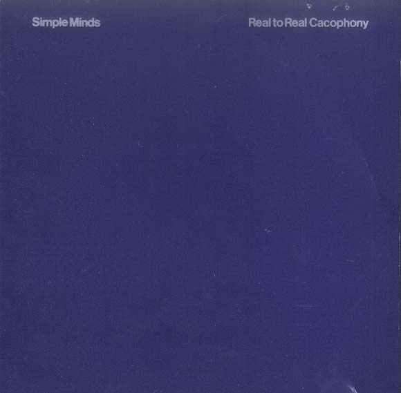 Simple Minds Real to Real Cacophony cover art
