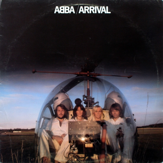 ABBA Arrival Cover Art