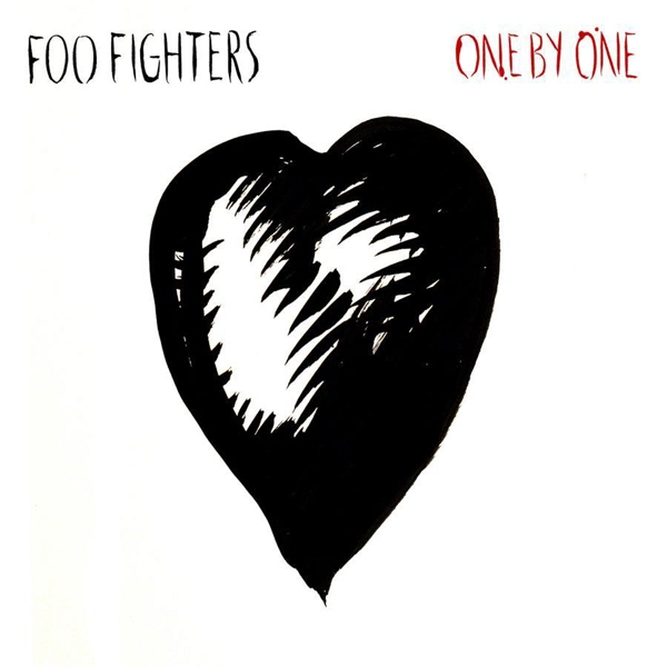 Foo Fighters One by One cover art