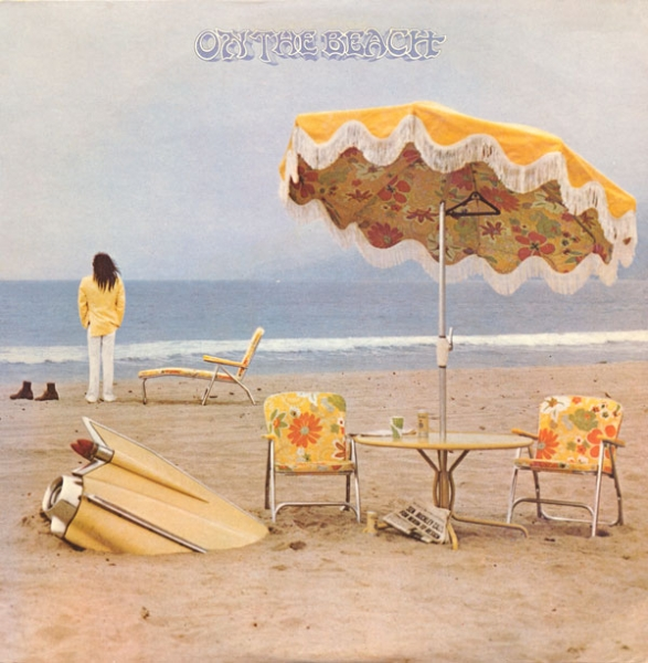 Neil Young On the Beach cover art