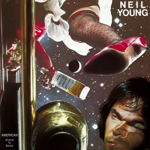 Neil Young American Stars 'n Bars cover art