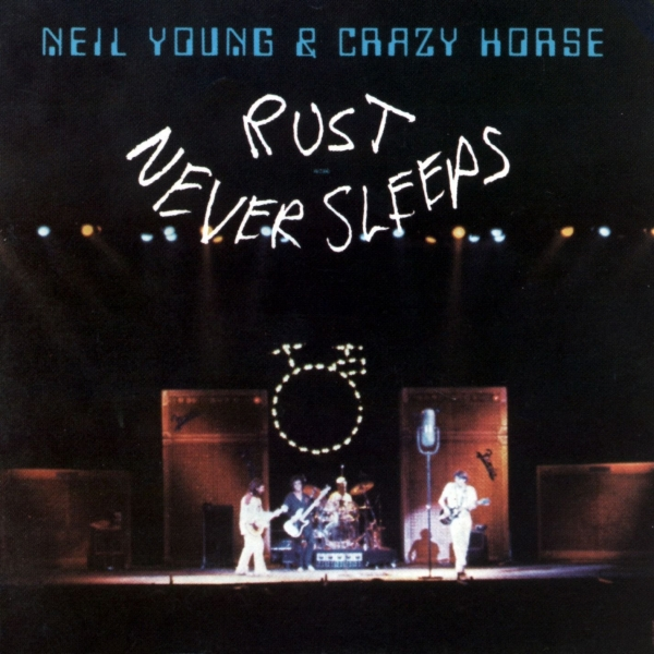 Crazy Horse Rust Never Sleeps cover art
