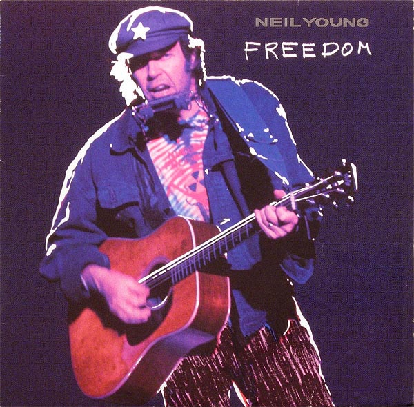 Neil Young Freedom cover art
