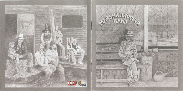 The Marshall Tucker Band Where We All Belong cover art