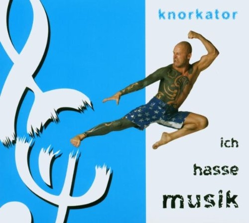 Knorkator Ich hasse Musik cover art