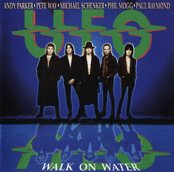 UFO Walk on Water Cover Art
