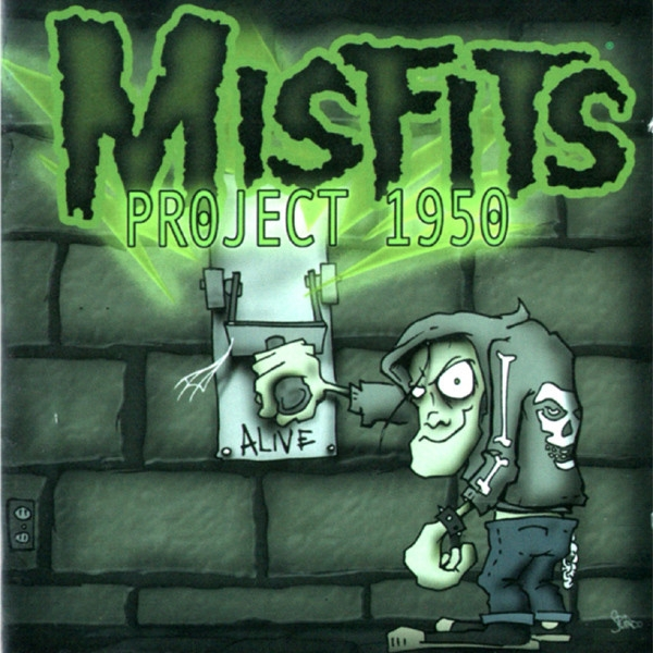 Misfits Project 1950 cover art