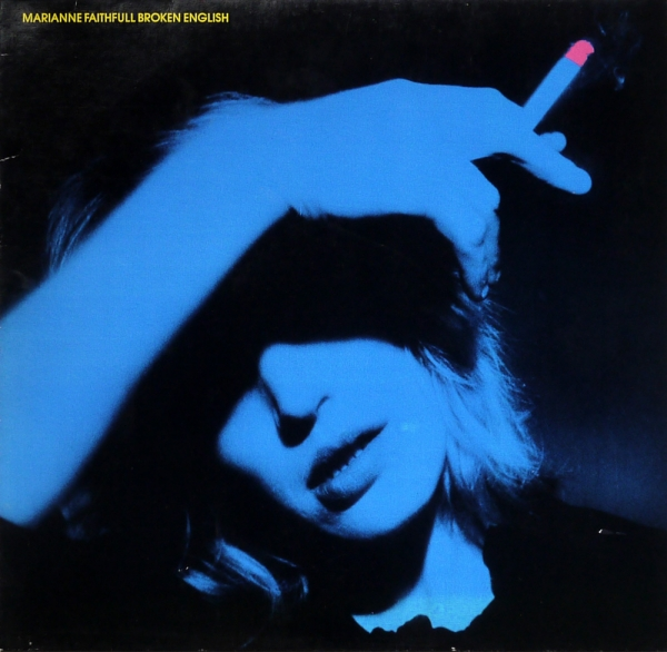 Marianne Faithfull Broken English cover art