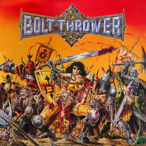 Bolt Thrower War Master cover art