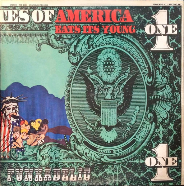Funkadelic America Eats Its Young cover art