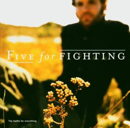 Five For Fighting The Battle for Everything cover art