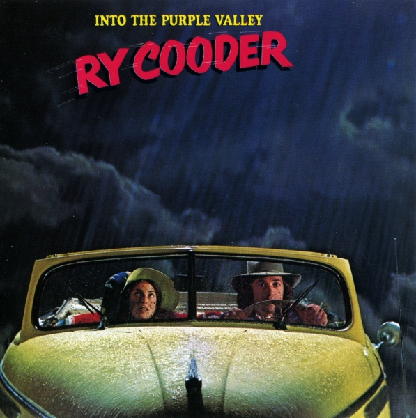 Ry Cooder Into the Purple Valley Cover Art