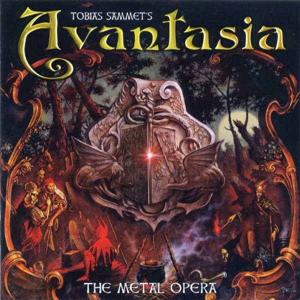 Avantasia The Metal Opera cover art