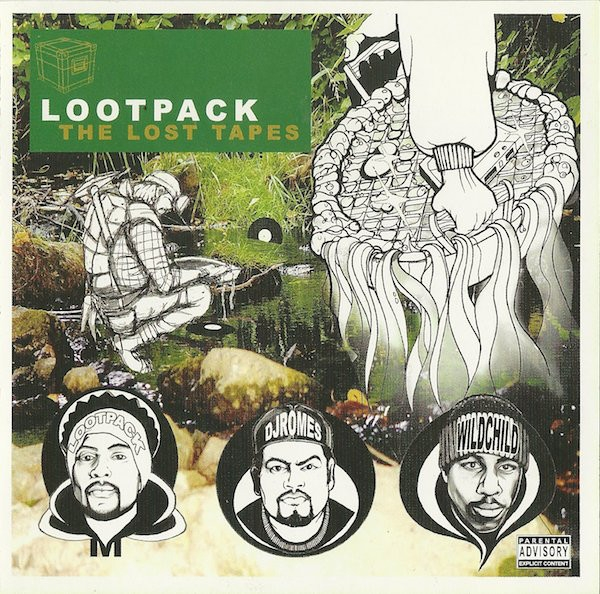 Lootpack The Lost Tapes Cover Art