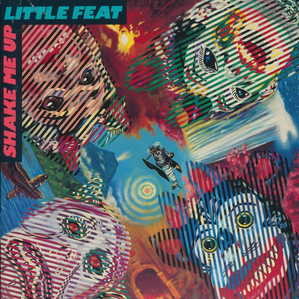 Little Feat Shake Me Up Cover Art