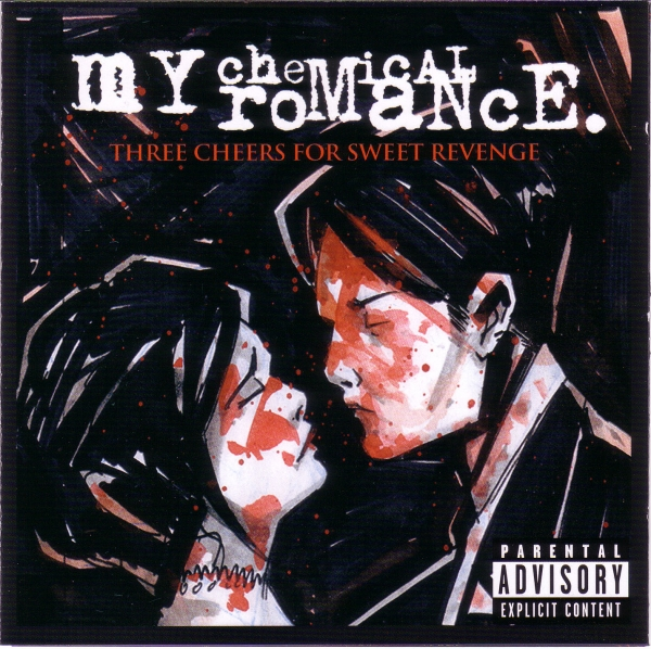 My Chemical Romance Three Cheers for Sweet Revenge cover art