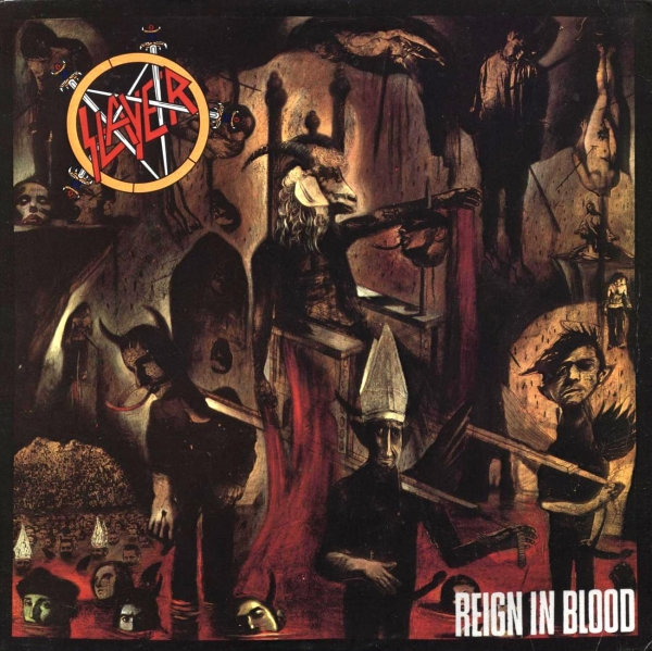 Slayer Reign in Blood cover art