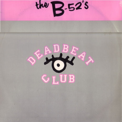 The B-52s Deadbeat Club Cover Art
