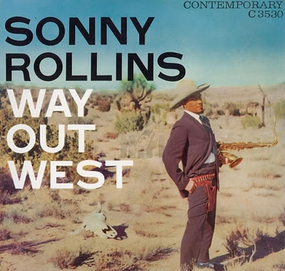 Sonny Rollins Way Out West Cover Art